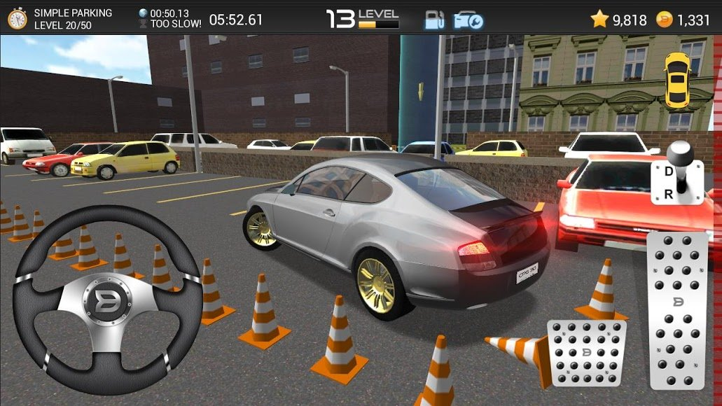 car parking games 3d