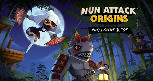Скриншот Nun Attack Origins: Yuki