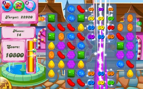 Скриншот Candy Crush Saga