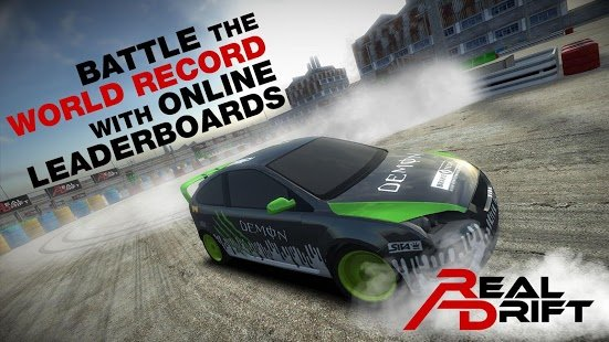 Скриншот Real Drift Car Racing Lite