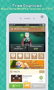 Скриншот Master for Minecraft Launcher (MCPE Master)