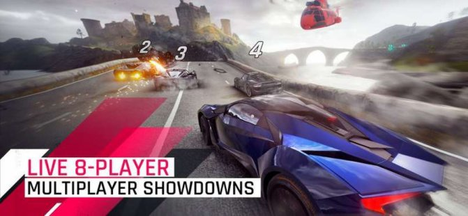 Скриншот Asphalt 9: Legends - 2018's New Arcade Racing Game
