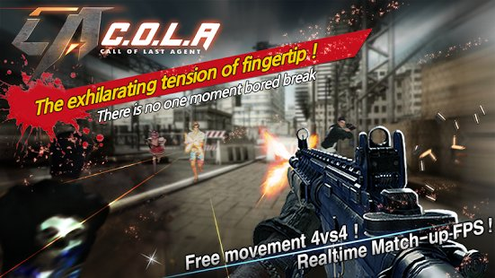 Скриншот Call Of Last Agent (COLA)-FPS