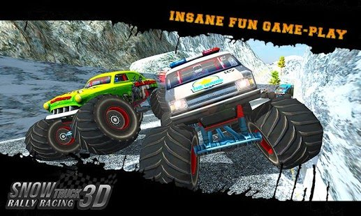 Скриншот Snow Racing Monster Truck 17