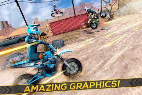 Скриншот Realistic Bike 3D Scooter Race
