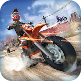Иконка Realistic Bike 3D Scooter Race