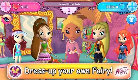 Скриншот Winx Fairy School Lite