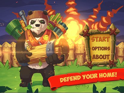 Скриншот Panda Hit - Defender RPG