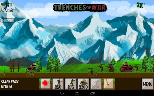 Скриншот Trenches of War