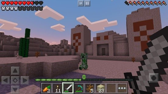 Скриншот Minecraft: Pocket Edition