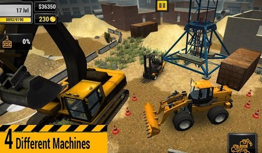 Скриншот Construction Machines 2016