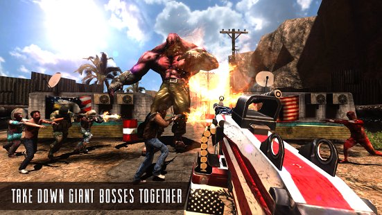 Скриншот Rage Z: Multiplayer Zombie FPS