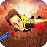 Иконка Flying Hero Escape 3D