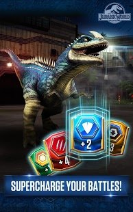 Скриншот Jurassic World™: The Game