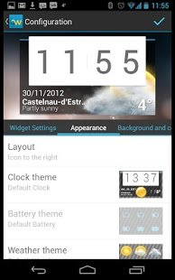 Скриншот Beautiful Widgets
