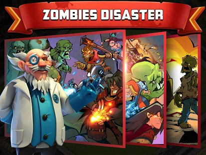 Скриншот Clash of Zombies 2: Atlantis