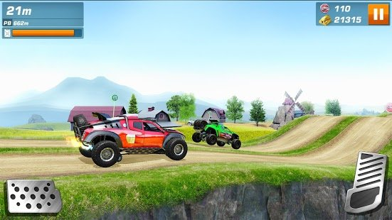 Скриншот Monster Trucks Racing