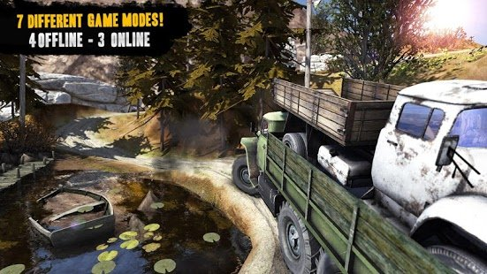 Скриншот Truck Evolutio: Offroad 2
