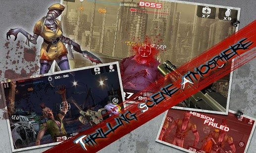 Скриншот Blood Zombies HD