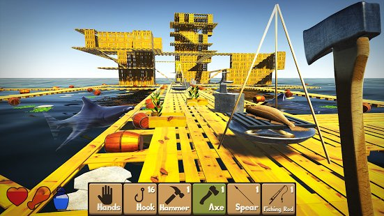 Скриншот Raft Survival Simulator