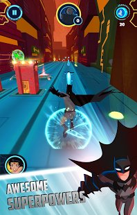Скриншот Justice League Action Run