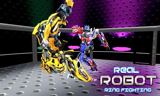 Скриншот Real Robot Ring Fighting