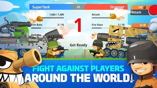Скриншот Super Tank Rumble