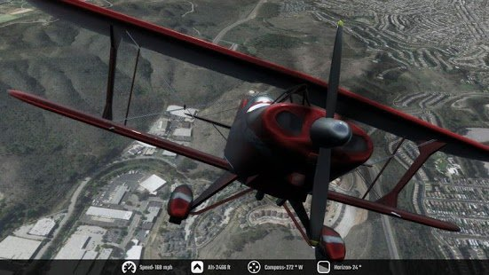 Скриншот Flight Unlimited San Francisco