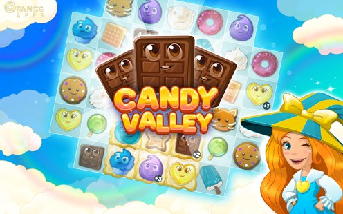 Скриншот Candy Valley