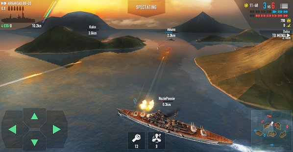 Скриншот Battle of Warships