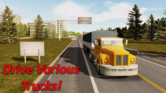 Скриншот Heavy Truck Simulator