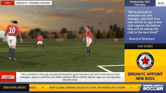 Скриншот Dream League Soccer 2017