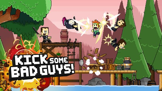 Скриншот Dan the Man: Action Platformer