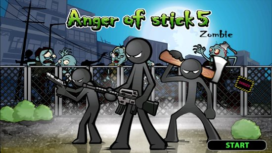 Скриншот Anger of Stick 5 ( action )