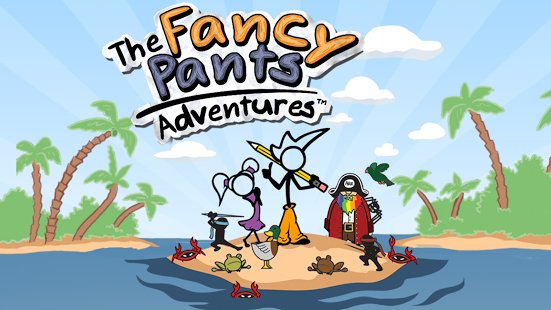 Скриншот Fancy Pants Adventures