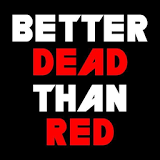 Иконка Better Dead Than Red