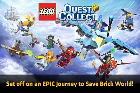 Скриншот LEGO Quest  Collect
