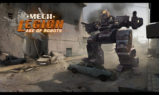 Скриншот Mech Legion: Age of Robots