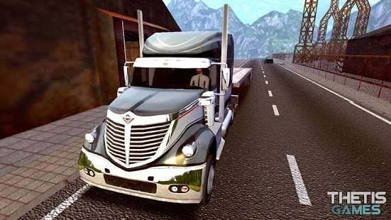 Скриншот Truck Simulator Europe 2 HD