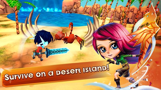Скриншот Survivor Island Games - Survival Craft Adventure