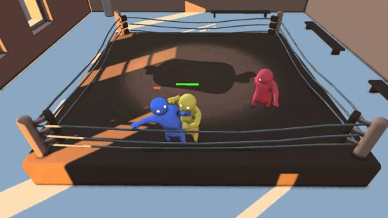 Скриншот Gang Beasts Online Wrestling