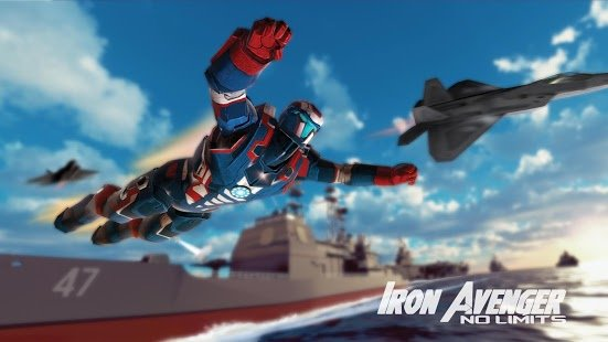 Скриншот Iron Avenger 2 : No Limits