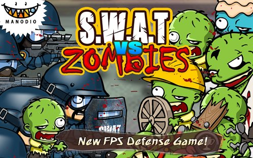 Скриншот SWAT and Zombies