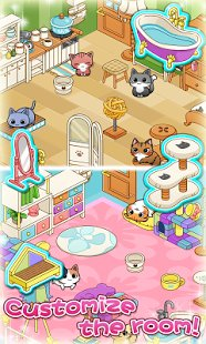 Скриншот Cat Room - Cute Cat Games