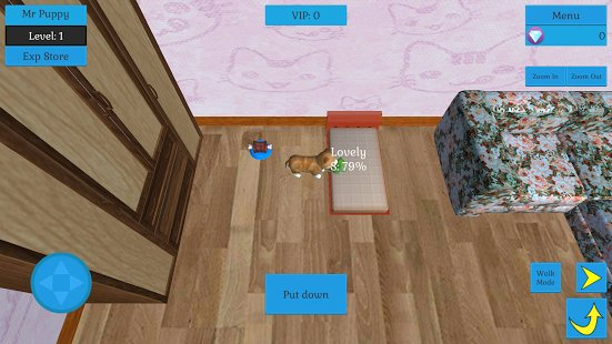 Скриншот Cute Pocket Cat And Puppy 3D