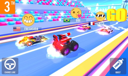Скриншот SUP Multiplayer Racing