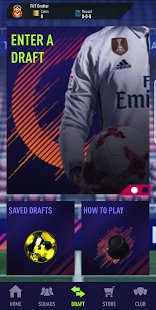Скриншот Draft Simulator for FUT 18