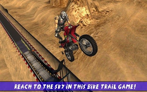 Скриншот Hill Bike Galaxy Trail World 2