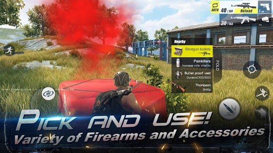 Скриншот RULES OF SURVIVAL