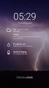 Скриншот GO Weather EX